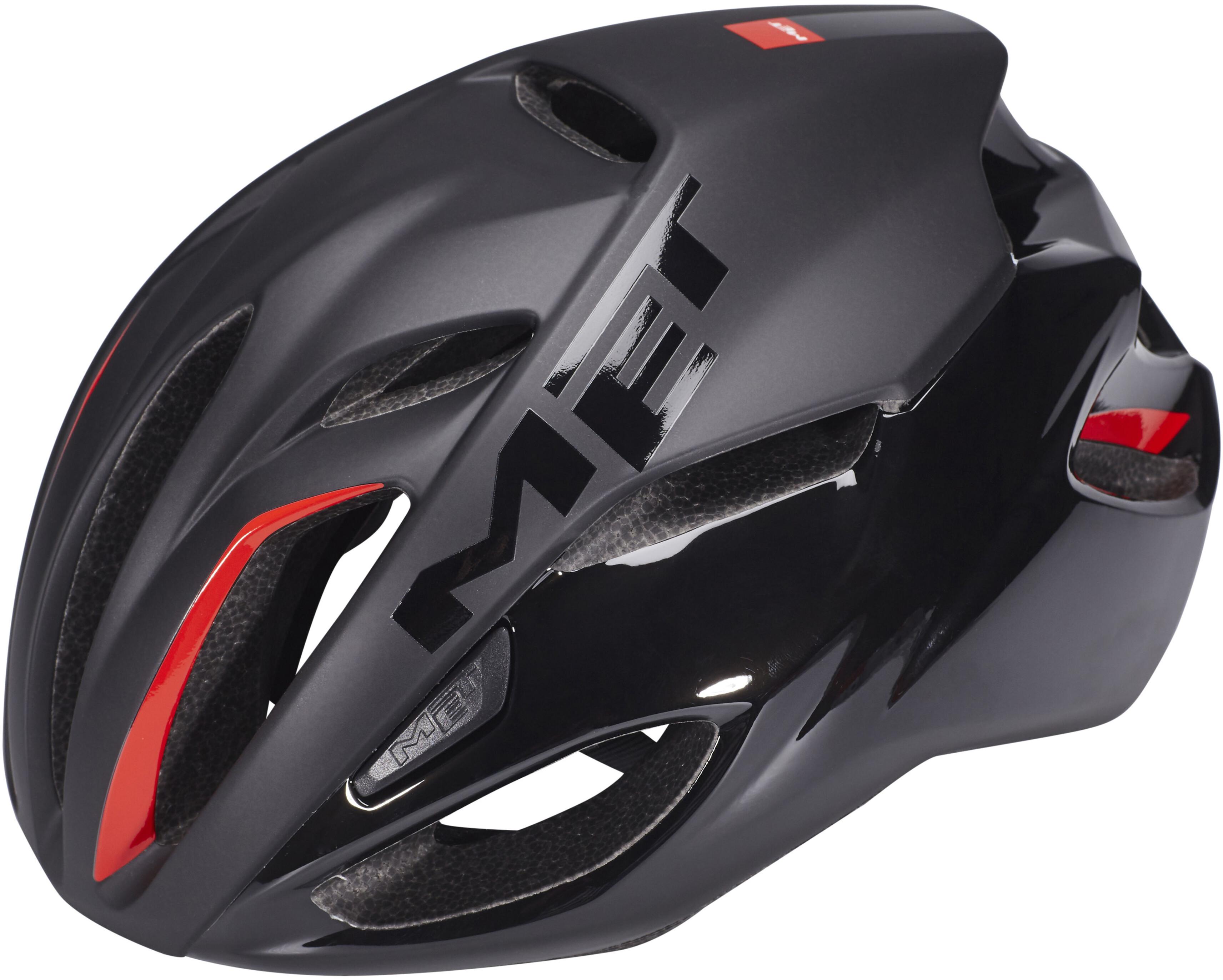 2e330cb7889 MET Rivale Helmet matt black at Bikester.co.uk